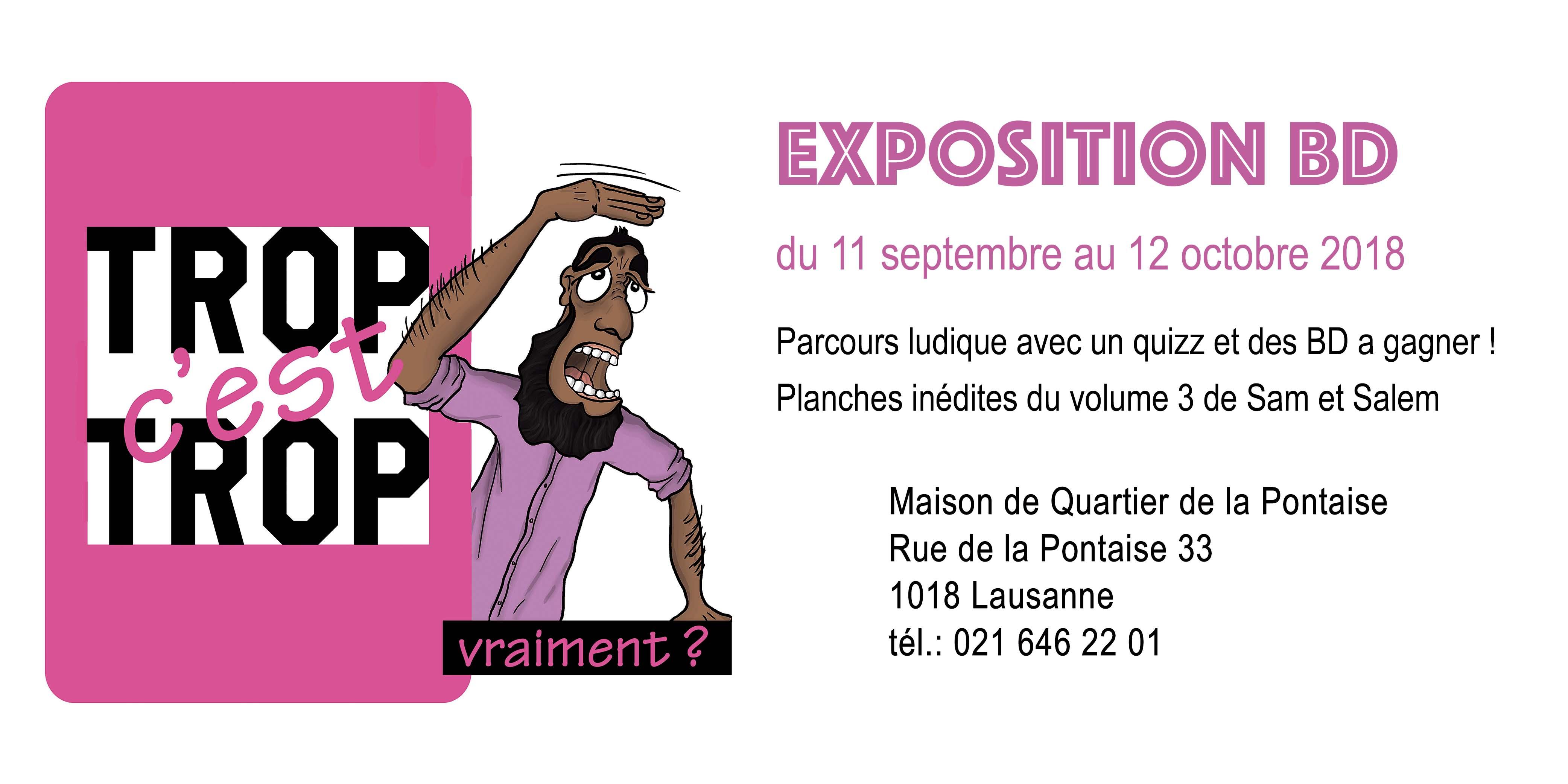 affiche expo site